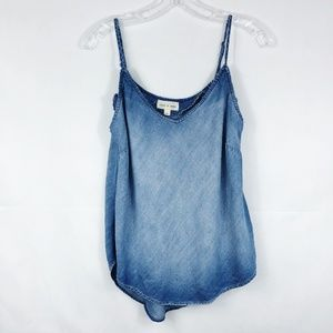 3/30 Cloth & Stone | Chambray Tank Top
